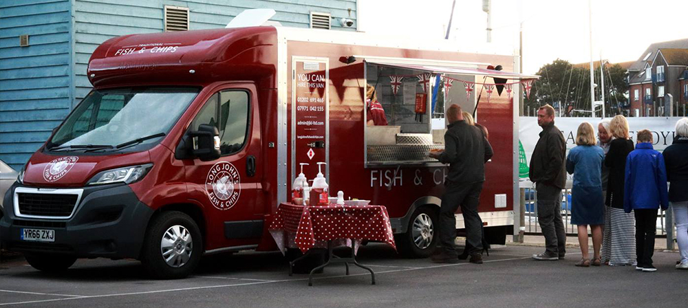 Mobile Fish and Chips Dorset